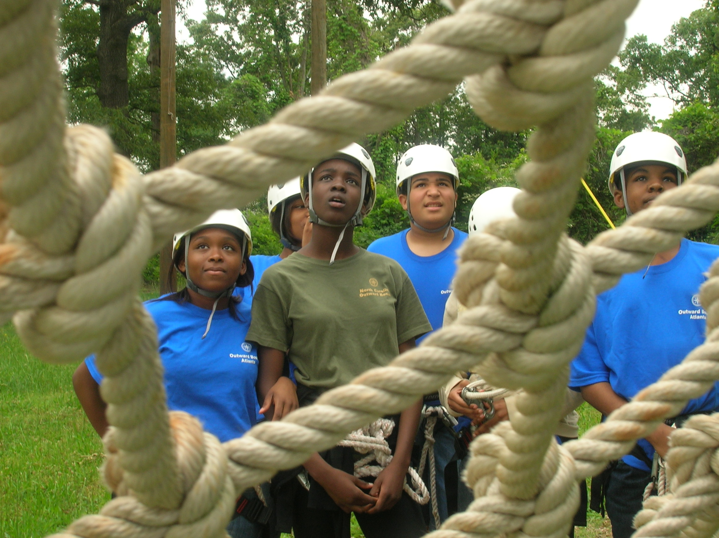 High ropes course in Atlanta