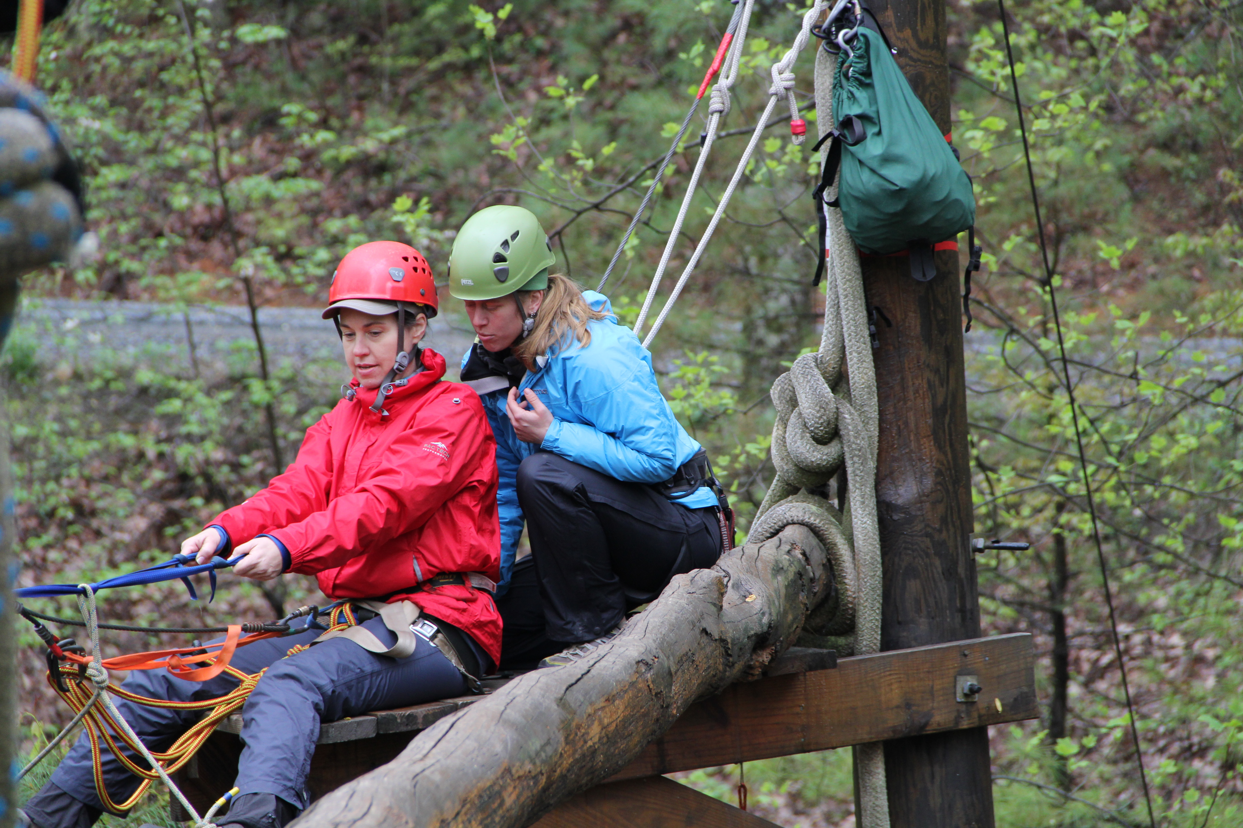 Outward Bound Professional instructors