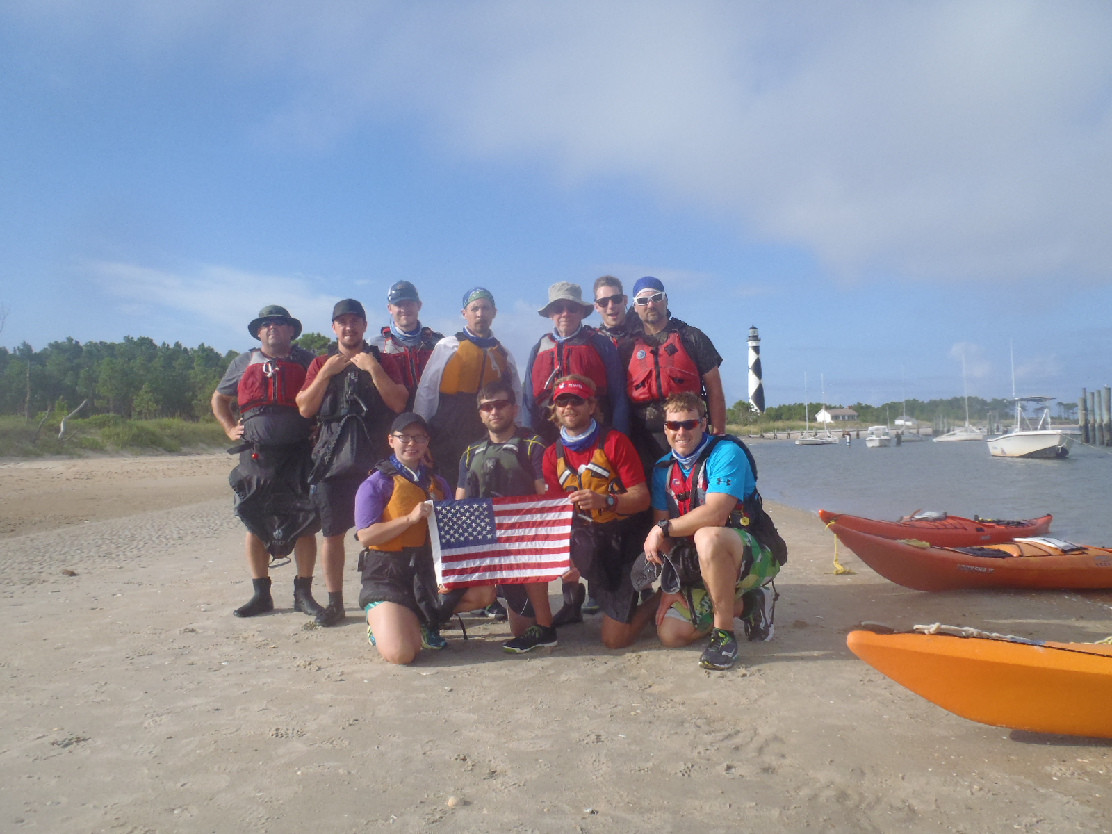 Outward Bound Course For Veterans Obx Sea Kayaking North