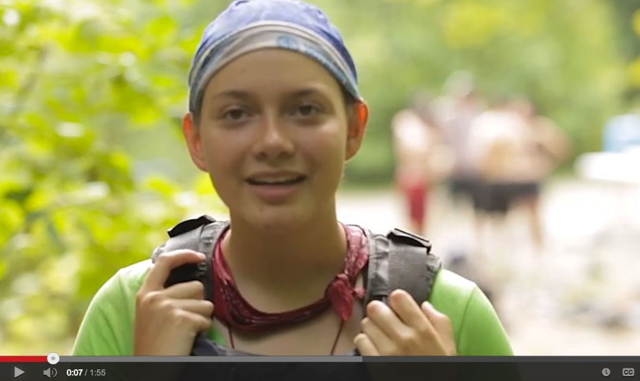 Darby talks about her experience on Outward Bound